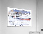 Canadian Snowbirds  Acrylic Print