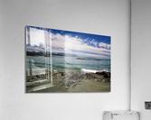 Peaceful Pacific Beach  Acrylic Print
