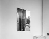 Quiet Street  Acrylic Print