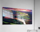 Peace River Setting Sun  Acrylic Print
