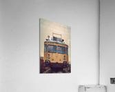 Junkyard train  Acrylic Print