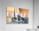 Chopper cruiser motorbike  Acrylic Print