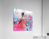 Summer Resort Abstract   Acrylic Print