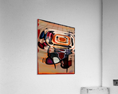 ABSTRACTO-2002 Drainage  Acrylic Print