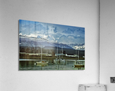 Comox Glacier Overlooking Comox Harbor  Acrylic Print