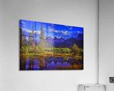 Three Sisters Peaks  Acrylic Print