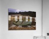Clinker-built Rowboat  Acrylic Print