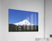 Blue Skies over Mount Hood  Acrylic Print