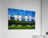 Comox Glacier in Early Spring  Acrylic Print
