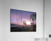 Sunset   Costa Del Sol   Andalusia Spain  Acrylic Print