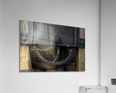 Une roue figee dans le temps  Acrylic Print