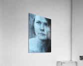 Un regard bleu - A Blue Gaze  Acrylic Print