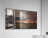 Lightning On The Prairies  Acrylic Print