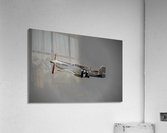 P-51 Orange Super Limited Edition 10 Prints only  Acrylic Print