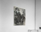 RA 014 - אישה מוסלמית - Muslim woman  Acrylic Print