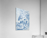 RA 021 - גברת - Lady  Acrylic Print