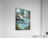 RA 040 - אור המגדלור - Lighthouse light  Acrylic Print