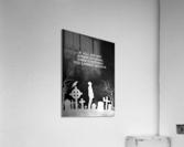 Laugh at Death Motivational Wall Art  Acrylic Print