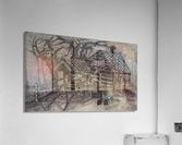 RA 013 - בית בכפר -  house in the village  Acrylic Print