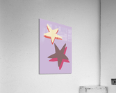 Lilac Star  Acrylic Print