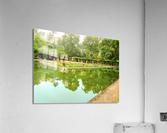 Lotos Pond - Estanque de Los Lotos - Parque de Maria Luisa - Seville Spain  Acrylic Print