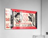 1960 USC Trojans vs. Washington Huskies  Acrylic Print