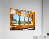 Shadows and Sunlight - Palace of Pena - Sintra Portugal  Acrylic Print