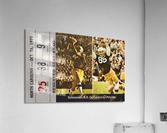 1971 Notre Dame vs. North Carolina Football Ticket Canvas  Acrylic Print