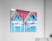 Beach cabin  Acrylic Print