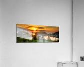 Coucher de soleil au Bic  Acrylic Print