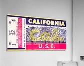 1969 Cal Bears vs. USC Trojans  Acrylic Print