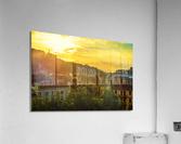 Summer Sunset over Lucerne Switzerland  Acrylic Print