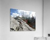Easy Climb to Grouse Mountain  Acrylic Print