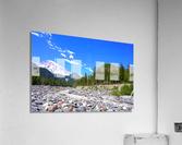 Spring Runoff Mount Rainier Pacific Northwest Washington State  Acrylic Print