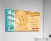 1956 Washington Huskies vs. Minnesota Golden Gophers  Acrylic Print