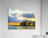 Sunset over Kaula Bay Hawaii  Acrylic Print