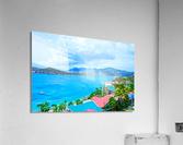 Pacquereau Bay Saint Thomas Caribbean Islands  Acrylic Print