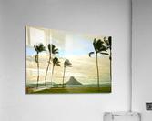 The Island of Mokoli  i from Oahu at Sunset  Acrylic Print