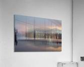 Lever de soleil sur le lac Earhart  1 - Sunrise on Earhart Lake  1  Acrylic Print