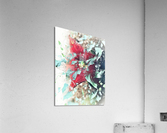 Scarlett Pimpernel with Vine  Acrylic Print