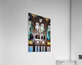 Lound Church Rood Screen 1  Acrylic Print