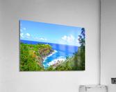 Kilauea Lighthouse in Spring on the Island of Kauai  Acrylic Print