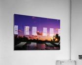 Sunrise over the Lagoon in Kauai  Acrylic Print