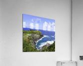 Kilauea Lighthouse on the Island of Kauai Square  Acrylic Print