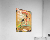 1973 Baltimore Orioles Yearbook Poster  Acrylic Print