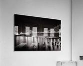 Bay Bridge Black & White  Acrylic Print
