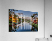 Venice Canal At Twilight  Acrylic Print