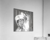1960 Lon Keller Quarterback Remix Art  Acrylic Print