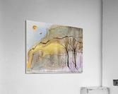 Golden Hour  Impression acrylique