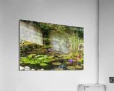 Divin Jardin d   eau   Divine Water Garden  Impression acrylique